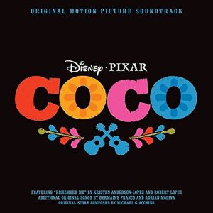 COCO - ORIGINAL MOTION PICTURE SOUNDTRACK (AUDIO CD)
