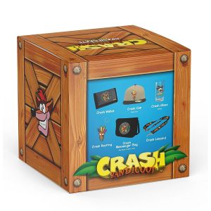 CRASH BANDICOOT - CRASH CRATE BIG BOX Limited Edition