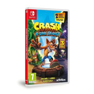 CRASH BANDICOOT N. SANE TRILOGY (NSW)