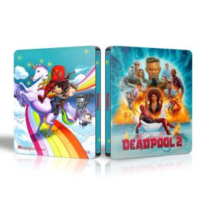 DEADPOOL 2 Theatrical & Extended SUPER DUPER CUT Limited Edition EXCLUSIVE VISUAL Steelbook (2 BLU-RAY) + GIFT Steelbook PROTECTIVE SLEEVE