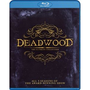 DEADWOOD: ALL 3 SEASONS - THE ULTIMATE COLLECTION (9 BLU-RAYs)