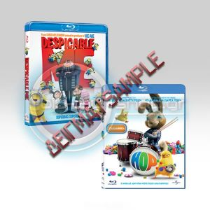 DESPICABLE ME & HOP DOUBLE PACK (BLU-RAY)