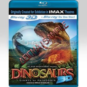 DINOSAURS - GIANTS OF PATAGONIA 3D (BLU-RAY 3D/2D)