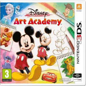 DISNEY ART ACADEMY (3DS, 2DS)