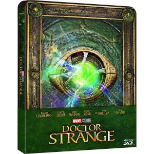 DOCTOR STRANGE 3D - Limited Edition Steelbook (BLU-RAY 3D + BLU-RAY) + GIFT Steelbook PROTECTIVE SLEEVE