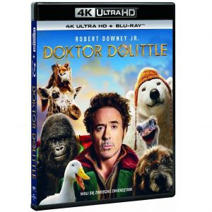 DOLITTLE 4K+2D  [Imported] (4K UHD BLU-RAY + BLU-RAY 2D)