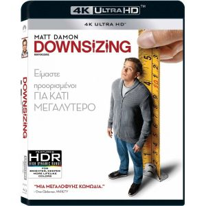DOWNSIZING - ΜΙΚΡΟΚΟΣΜΟΣ (4K UHD BLU-RAY)
