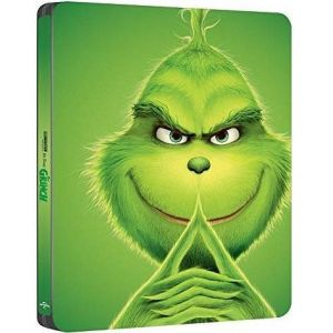 DR. SEUSS': ΤΗΕ GRINCH Limited Edition Steelbook [Imported] (BLU-RAY)