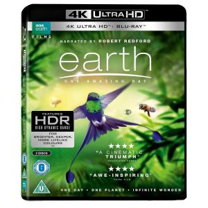 EARTH: ONE AMAZING DAY 4K+2D (4K UHD BLU-RAY + BLU-RAY)