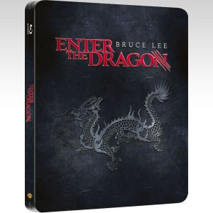 ENTER THE DRAGON Remastered Limited Collector's Edition Steelbook [Imported] (BLU-RAY)