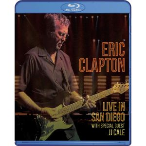 ERIC CLAPTON: LIVE IN SAN DIEGO - WITH SPECIAL GUEST JJ CALE (BLU-RAY)