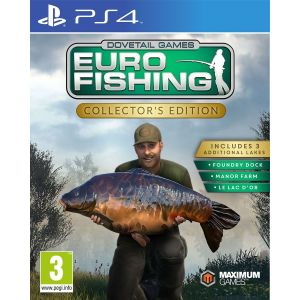 EURO FISHING - COLLECTOR'S EDITION (PS4)