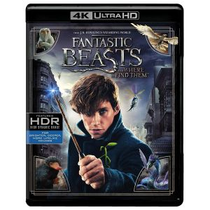 FANTASTIC BEASTS AND WHERE TO FIND THEM 4K+2D (4K UHD BLU-RAY + BLU-RAY)