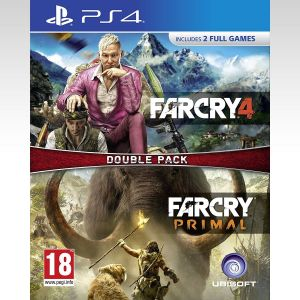 FAR CRY 4 & FAR CRY: PRIMAL - DOUBLE PACK (PS4)