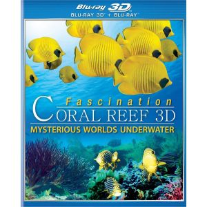 FASCINATION CORAL REEF: MYSTERIOUS WORLDS UNDER WATER 3D (BLU-RAY 3D/2D)