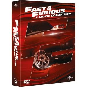FAST & FURIOUS 1-7 Collection (8 DVDs)