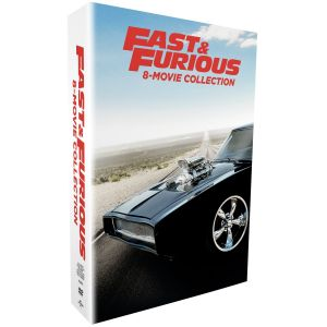 FAST & FURIOUS 1-8 Collection (9 DVDs)