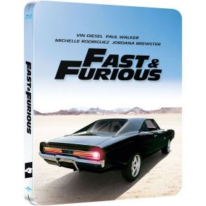 FAST & FURIOUS 4 Limited Collector's Edition Steelbook [Imported] (BLU-RAY)