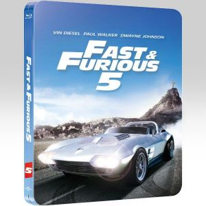 FAST & FURIOUS 5 Limited Collector's Edition Steelbook [Imported] (BLU-RAY)