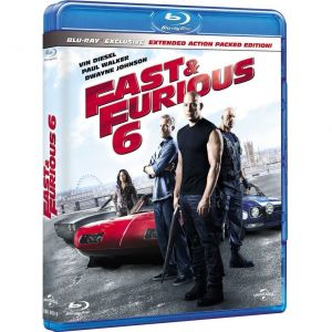 FAST & FURIOUS 6 Extended Edition - ΜΑΧΗΤΕΣ ΤΩΝ ΔΡΟΜΩΝ 6 Extended Edition (BLU-RAY)