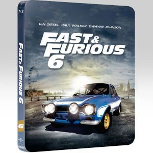 FAST & FURIOUS 6 Limited Collector's Edition Steelbook [Imported] (BLU-RAY)
