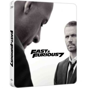 FAST & FURIOUS 7 Extended - ΜΑΧΗΤΕΣ ΤΩΝ ΔΡΟΜΩΝ 7 Extended Limited Collector's Edition Steelbook [Imported] (BLU-RAY)