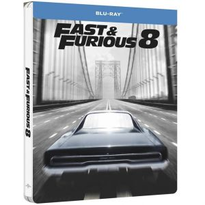 FAST & FURIOUS 8: THE FATE OF THE FURIOUS Limited Edition Steelbook [Imported] (BLU-RAY)