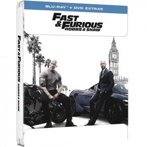 FAST & FURIOUS: HOBBS & SHAW Limited Edition Steelbook ΑΠΟΚΛΕΙΣΤΙΚΟ (BLU-RAY + DVD BONUS)