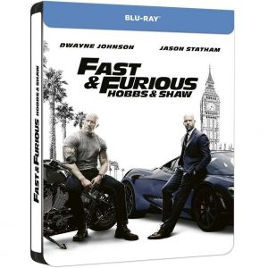 FAST & FURIOUS: HOBBS & SHAW Limited Edition Steelbook ΑΠΟΚΛΕΙΣΤΙΚΟ (BLU-RAY)