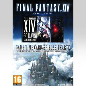 FINAL FANTASY XIV ONLINE REALM REBORN 60 DAY PRE-PAID GAME TIME CARDWORLD OF WARCRAFT 60-DAY PRE-PAID GAME CARD (PC)