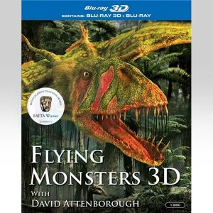 FLYING MONSTERS 3D [Imported] (BLU-RAY 3D + BLU-RAY)