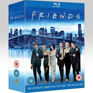 FRIENDS - THE COMPLETE SERIES: SEASONS 1-10 [Imported] (21 BLU-RAYs)