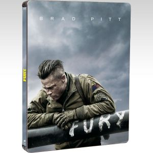 FURY [4K MASTERED] Limited Collector's Steelbook [Imported] (BLU-RAY)