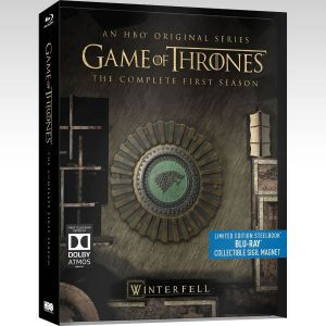 GAME OF THRONES: THE COMPLETE 1st SEASON - Limited Edition Steelbook [Εισαγωγής ΧΩΡΙΣ ΕΛΛΗΝΙΚΟΥΣ ΥΠΟΤΙΤΛΟΥΣ] (5 BLU-RAYs)