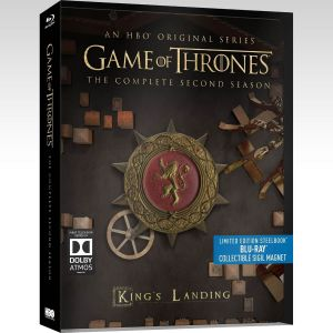 GAME OF THRONES: THE COMPLETE 2nd SEASON - Limited Edition Steelbook [Εισαγωγής ΧΩΡΙΣ ΕΛΛΗΝΙΚΟΥΣ ΥΠΟΤΙΤΛΟΥΣ] (5 BLU-RAYs)