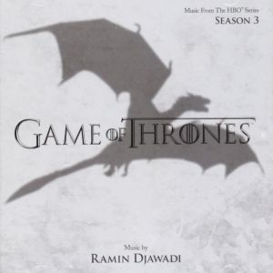 GAME OF THRONES: THE COMPLETE 3nd SEASON - ORIGINAL MOTION PICTURE SOUNDTRACK (AUDIO CD)