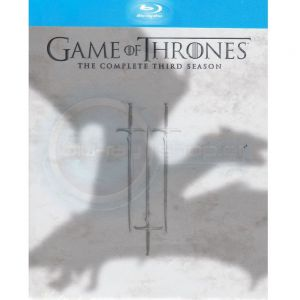 GAME OF THRONES: THE COMPLETE 3rd SEASON (5 BLU-RAYs)