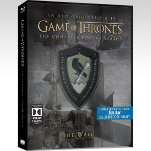 GAME OF THRONES: THE COMPLETE 4th SEASON - Limited Edition Steelbook [Εισαγωγής ΜΕ ΕΛΛΗΝΙΚΟΥΣ ΥΠΟΤΙΤΛΟΥΣ] (BLU-RAY)