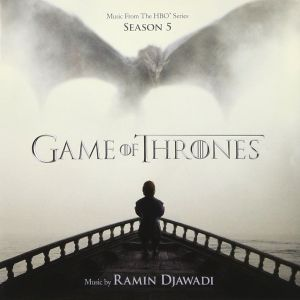 GAME OF THRONES: THE COMPLETE 5th SEASON - ORIGINAL MOTION PICTURE SOUNDTRACK (AUDIO CD)