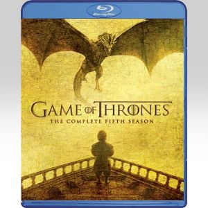 GAME OF THRONES: THE COMPLETE 5th SEASON (4 BLU-RAYs)