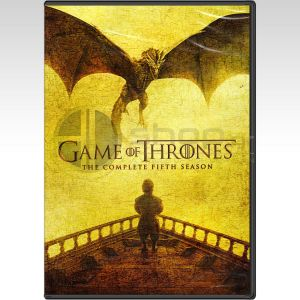 GAME OF THRONES: THE COMPLETE 5th SEASON - ΠΑΙΧΝΙΔΙ ΤΟΥ ΣΤΕΜΜΑΤΟΣ: 5η ΠΕΡΙΟΔΟΣ [ΕΛΛΗΝΙΚΟ] (5 DVDs)