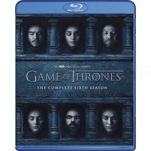 GAME OF THRONES: THE COMPLETE 6th SEASON (4 BLU-RAY)
