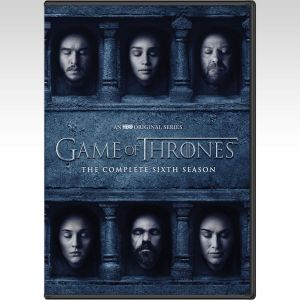 GAME OF THRONES: THE COMPLETE 6th SEASON - ΠΑΙΧΝΙΔΙ ΤΟΥ ΣΤΕΜΜΑΤΟΣ: 6η ΠΕΡΙΟΔΟΣ [ΕΛΛΗΝΙΚΟ] (5 DVDs)
