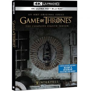 GAME OF THRONES: THE COMPLETE 8th SEASON 4K [Imported] Limited Edition Steelbook (4K UHD BLU-RAY)
