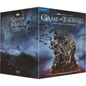 GAME OF THRONES: THE COMPLETE SERIES Seasons 1-8 (36 BLU-RAY)