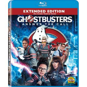 GHOSTBUSTERS [2016] Extended (BLU-RAY) ***SONY EXCLUSIVE***