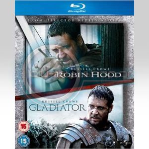 GLADIATOR & ROBIN HOOD DOUBLE PACK (BLU-RAY)