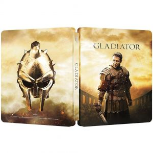 GLADIATOR 4K+2D Limited Edition Steelbook (4K UHD BLU-RAY + BLU-RAY 2D)