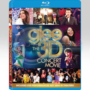 GLEE: THE CONCERT MOVIE (BLU-RAY 3D/2D)