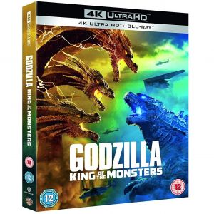 GODZILLA II: KING OF THE MONSTERS 4K+2D [Imported] (4K UHD BLU-RAY + BLU-RAY)